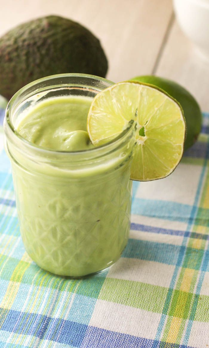 Creamy Key Lime Pie Smoothie. Like dessert! Smoothie.