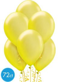 Yellow Balloons and Balloon Accessories - Party City