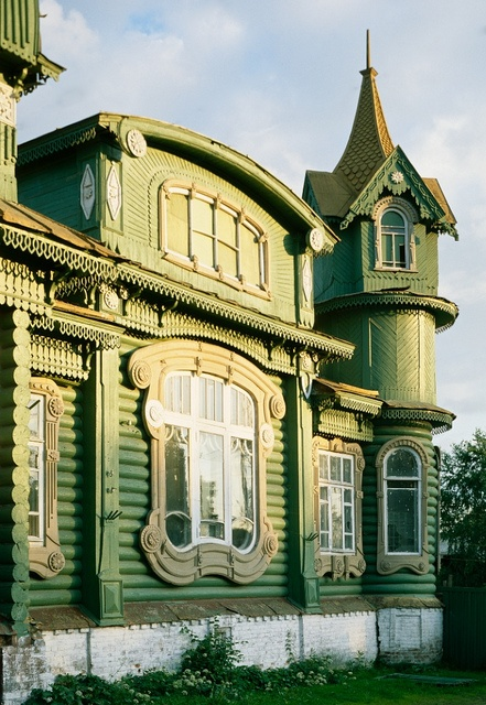 Art nouveau russe Gorohovets (Vladimir region). Shorin's House