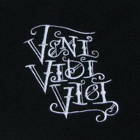 17 best veni vidi vici tattoos images on pinterest vici - Tatouage veni vidi vici ...