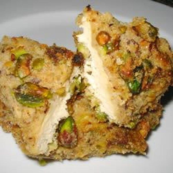 """Pistachio Crusted Chicken 