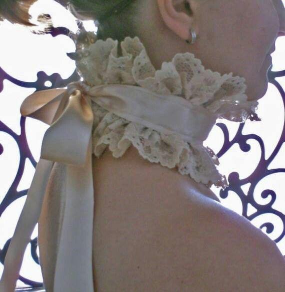Make a garter for wedding!!