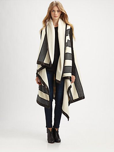 Rag & Bone Bajwa Blanket Wrap Coat