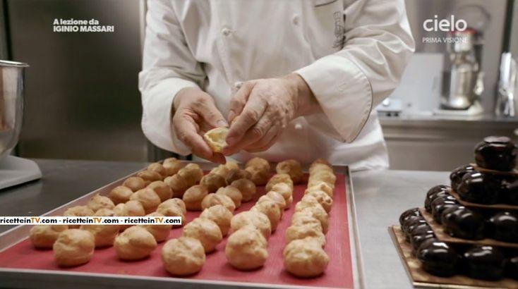 Le dosi, il procedimento ed i segreti per la realizzazione di ottimi bignè. Ecco la ricetta del maestro pasticcere Iginio Massari.