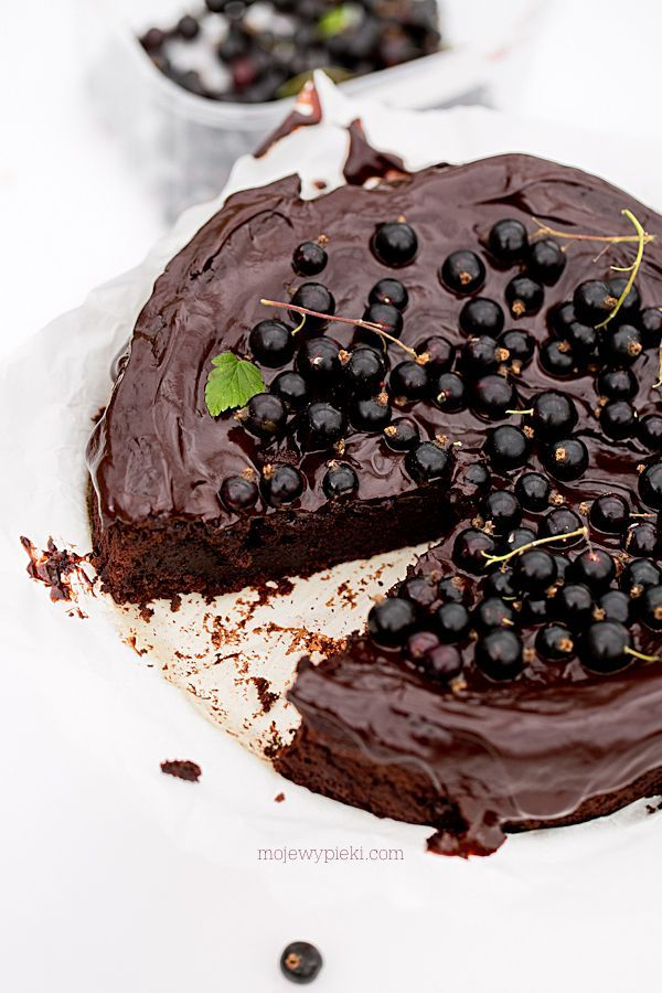 Chocolate Cassis Cake