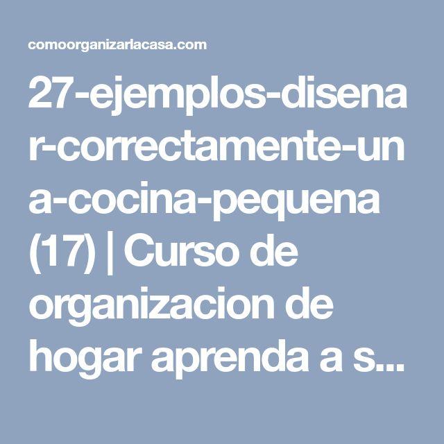 27-ejemplos-disenar-correctamente-una-cocina-pequena (17) | Curso de organizacion de hogar aprenda a ser organizado en poco tiempo