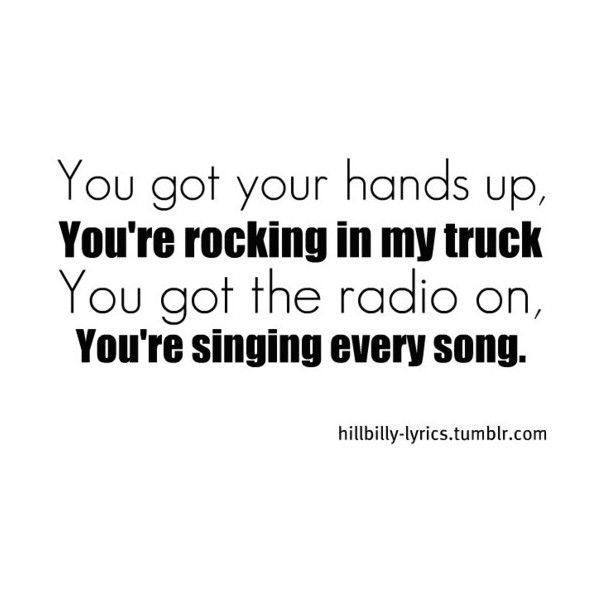 Country Music Lyrics found on Polyvore