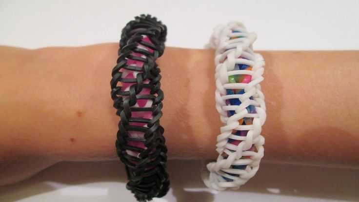 "Rainbow Loom – Spirilla Bracelet (Variation of the ""Frozen"" bracelet by rainbow loom)"