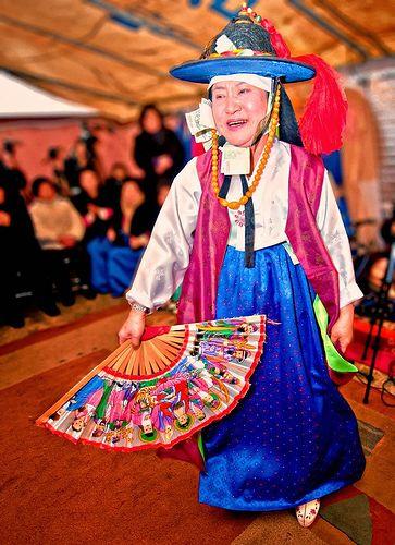 Korean female Shaman ritual