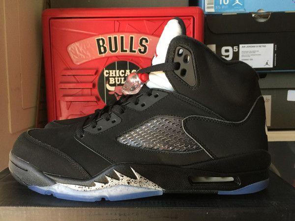 "The Nike Air Jordan 5 OG ""Black Metallic"" will be returning as part of"