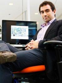 2013 Judge: Dr. Hossein Rahnama, Research and Innovation Director of Ryerson's Digital Media Zone (DMZ).