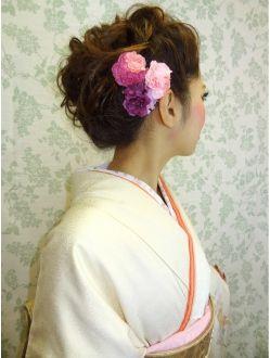 ヘアセットサロン イリス(IRIS)★IRIS★ヘアセット・着付・着物レンタル