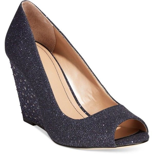 Style&co. Cecelie Evening Wedge Pumps ($36) Liked On