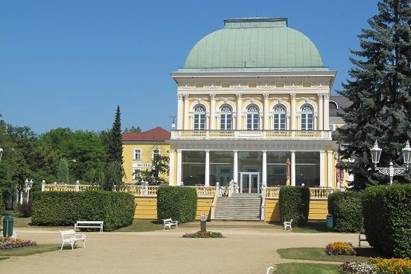 Františkovy Lázně - Goethe Restaurant / Casino