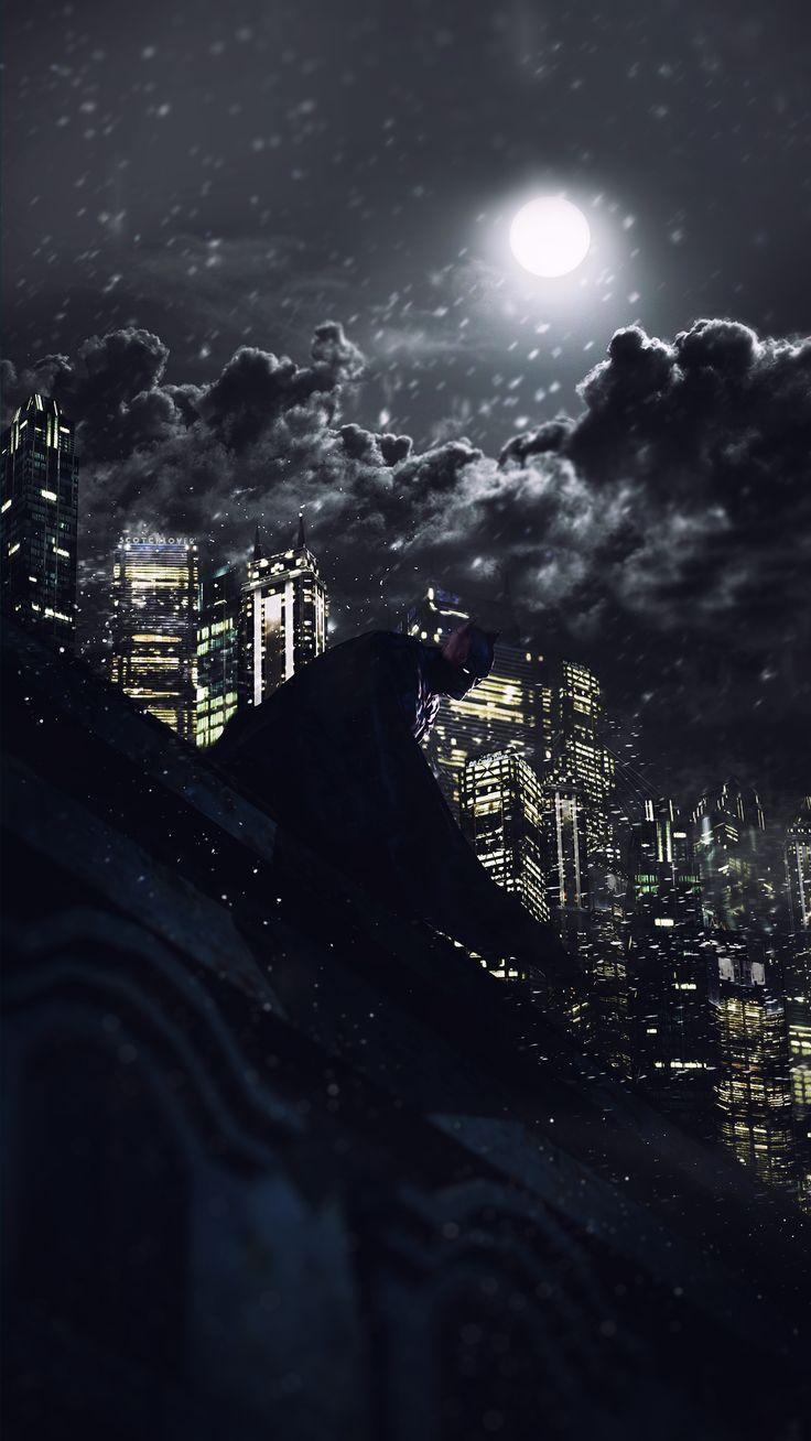 Batman - Guardian of Gotham (color) by Scotchlover on deviantART