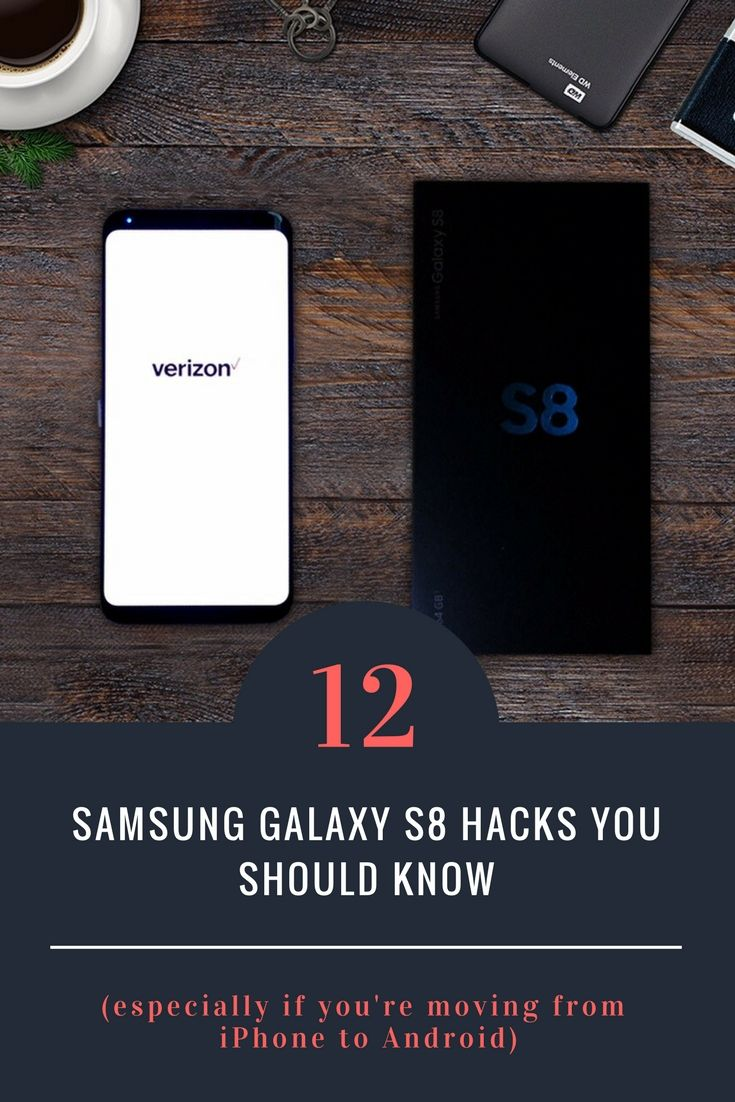 If you're like me and have made the switch from iPhone to Android, these are some really important Samsung Galaxy S8 phone hacks that help improve productivity and the overall Android experience.