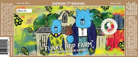 Sudwerk Fünke Hop Farm, Fulton War & Peace now available through The Rare Beer Club