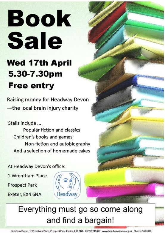 Book sale in #Exeter on Wednesday 17th April 2013 - come along and find a bargain!