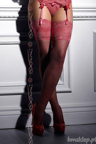 Zmysłowe pończochy, które są znakomitym dodatkiem do każdego stroju. Ażurowy #material i niezwykła barwa - przyciągną spojrzenia i rozpalą zmysły!... #Ponczochy - http://bmsklep.pl/axami-v-4834-cotton-candy-ponczochy