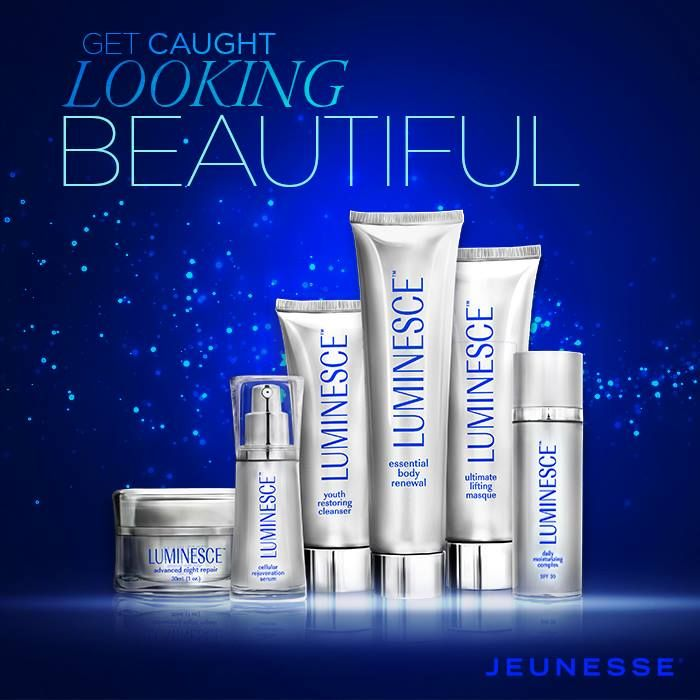 LUMINESCE™ The skincare component of Y.E.S. , LUMINESCE™ super-charges the production of young, fresh skin cells. Infused with a potent growth factor complex derived from natural adult stem cells, the LUMINESCE™ family of products rejuvenates skin cells at a molecular level.