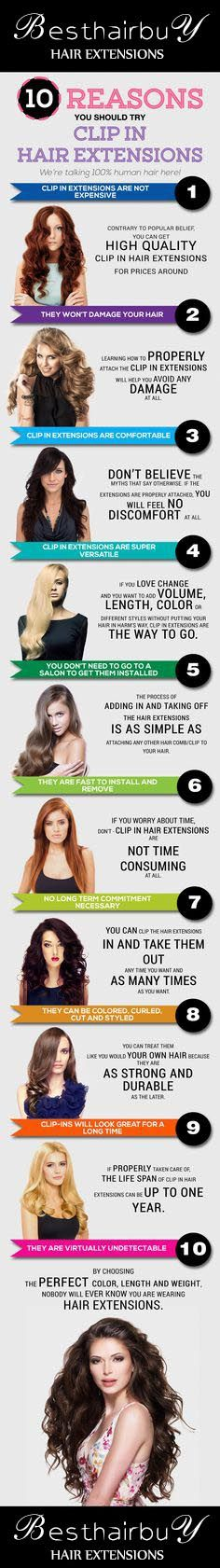 Best 25+ Short hair extensions ideas on Pinterest ...