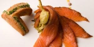 Pastrami Salmon de chez David Burke
