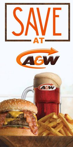 #Save at A&W with these #coupons