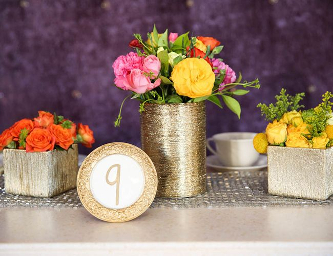 Colorful Floral Bridal Shower - Inspired by This Wedding Blog