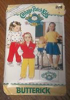 Butterick 6590 Cabbage Patch Kids Vest Top Skirt Pants Vintage Pattern  Sz 3