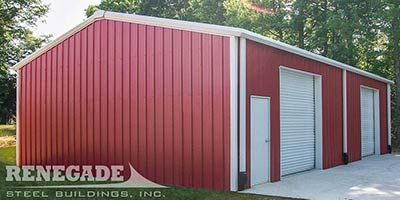Best 30X50 Metal Building 30X50 Steel Building Renegade 400 x 300