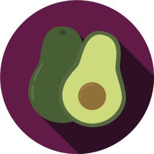 Avocado   Design   Flat   Icon   Illustration   Food   Fruit   Healthy   Kayla Folino
