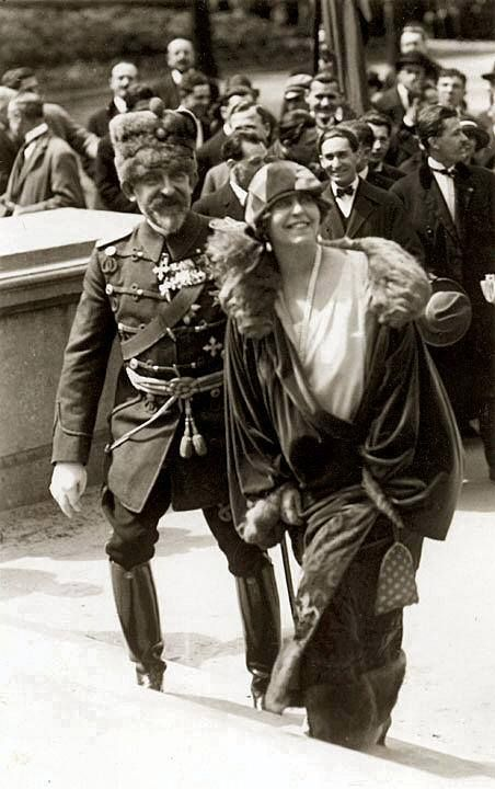 King Ferdinand and Queen Maria of Romania