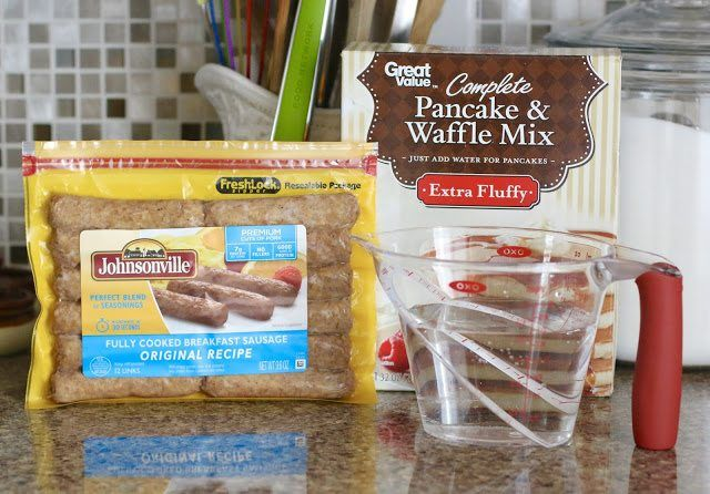 Pancake & Sausage Muffins - The Country Cook