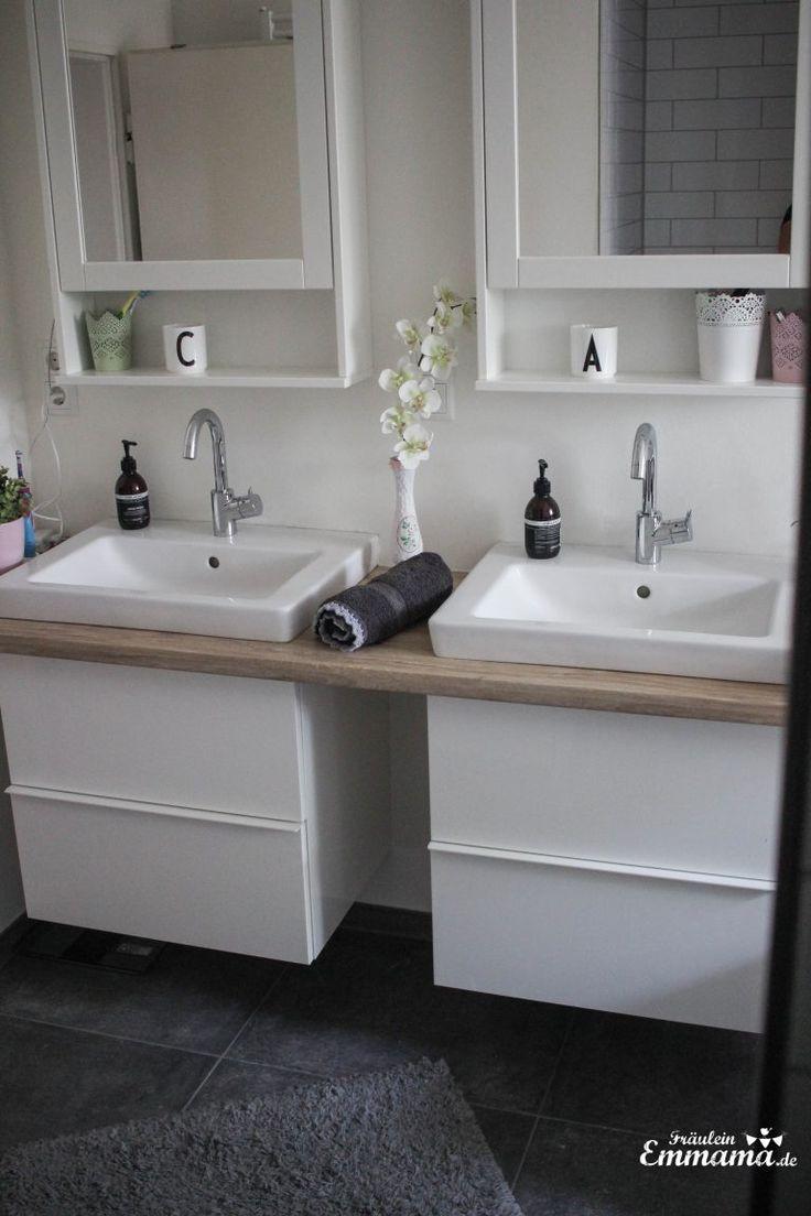Makeover Badezimmer in grau und weiß – Fräulein …