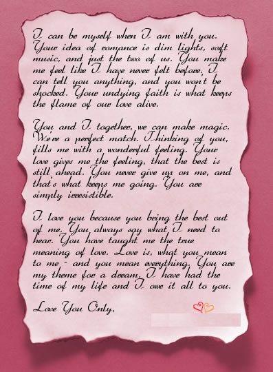 Best 25+ Romantic letters for him ideas on Pinterest Valentine - romantic love letter