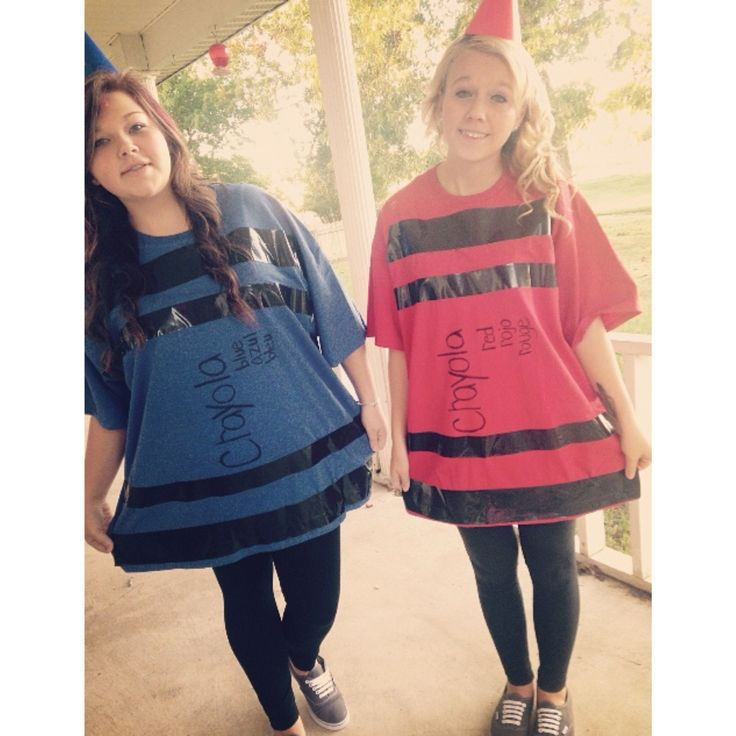Picture Ideas With Twins: Crayola Crayons Twin Day