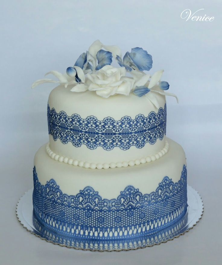 Wedding...blue and white