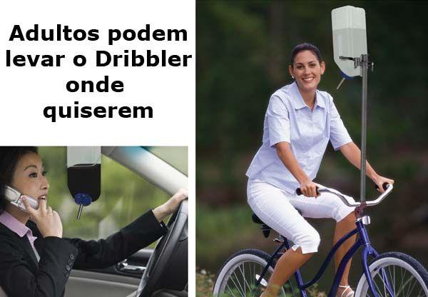 Leve o Dribbler onde quiser