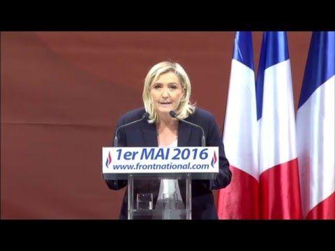 Discours de la Présidente du Front national à l'occasion du banquet patriotique et populaire qui s'est tenu à Paris le 1er mai 2016. Mes chers compatriotes, Chers amis, Quel plaisir pour moi de m'exprimer devant vous pour ce 1er mai, à l'occasion de notre...