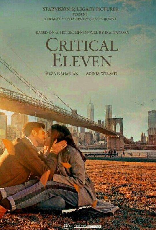 Reza Rahadian adegan ciuman dalam Film Critical Eleven siapakah lawan mainnya ?