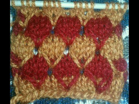 Easy MultiColor Knitting Pattern No.6|Hindi - YouTube