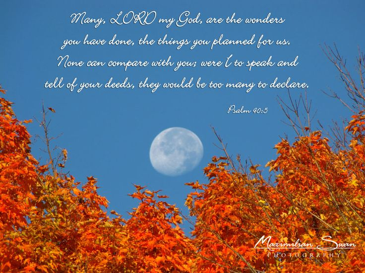 10 Best Images About Autumn Bible Verses On Pinterest