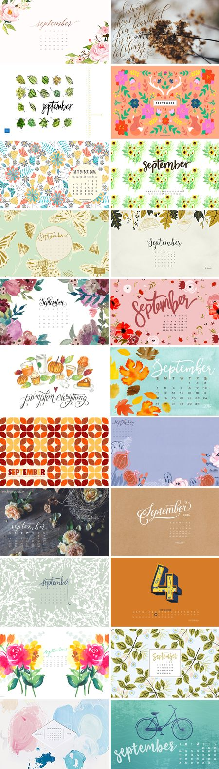 // September 2016 Wallpapers Round-up