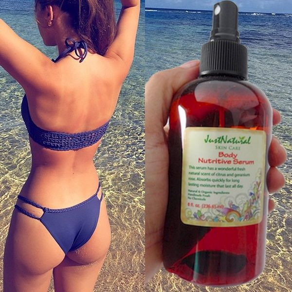 how to use tanning oil outside