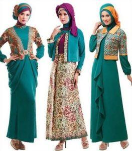 Model Busana Muslim 2016 Batik - http://busana-muslimah.com/model-busana-muslim-2016-batik/