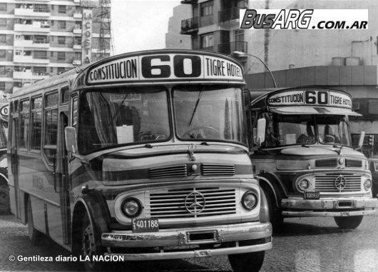 busarg.com.ar - 002 - Líneas de Concesión Nacional 051/100/La línea 60 y El Diseño: un clásico de los '80