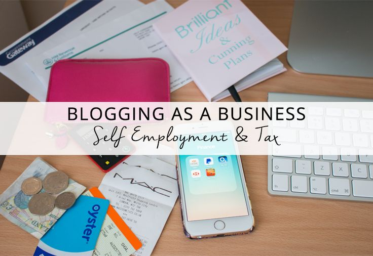 If you display ads on your Blog and YouTube videos, you are blogging as a business. You must register as self-employed and declare your earnings for tax purposes - even if blogging is not your only source of income...