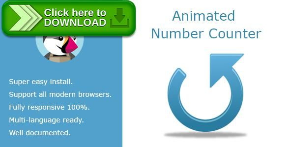 [ThemeForest]Free nulled download Animated Number Counter from http://zippyfile.download/f.php?id=38313 Tags: ecommerce, animated, count, counter, counters, mobile, number, numbers, playing, prestashop, responsive, scroll, statistics, tablet, viewing