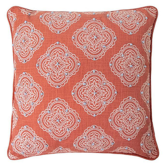 Randi Textured Square Throw Pillow Bed Bath Beyond Square Throw Pillow Throw Pillows Pillows