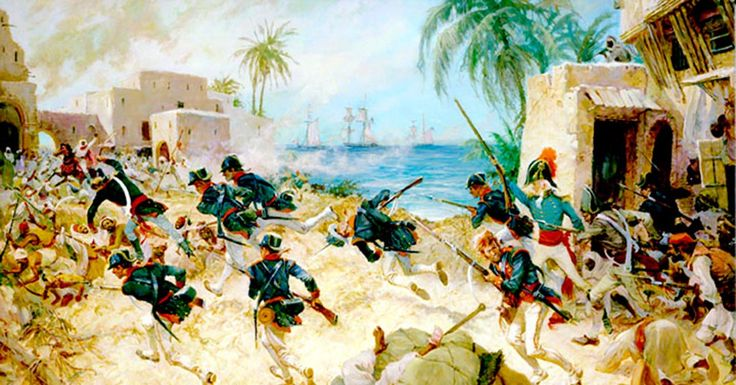 Lt. Presley O'Bannon, the Marine Corps Mameluke Sword, and the Shores of Tripoli Before It Was a Hymn